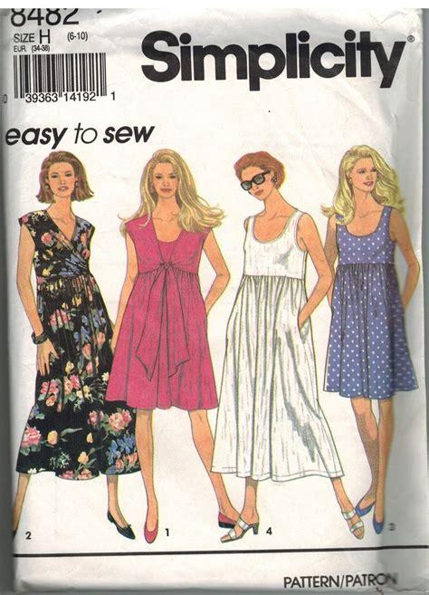vintage pattern simplicity 8482 vintage simplicity sewing pattern misses pullover