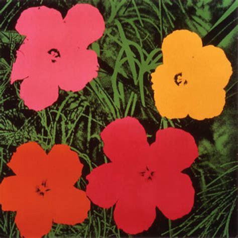 fiori di andy warhol flowers andy warhol hepner