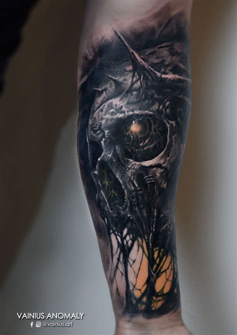 dark tattoos vainius cesnauskas certified artist