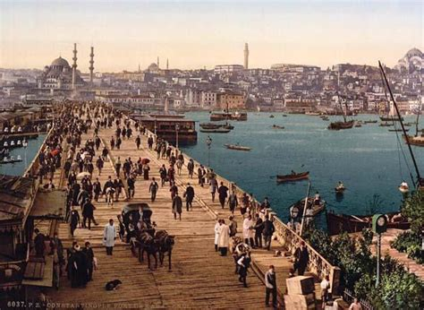 The Ottoman Turks Conquered All Of The Following Except Kara Kevi Galata Bridge Constantinople Turkey