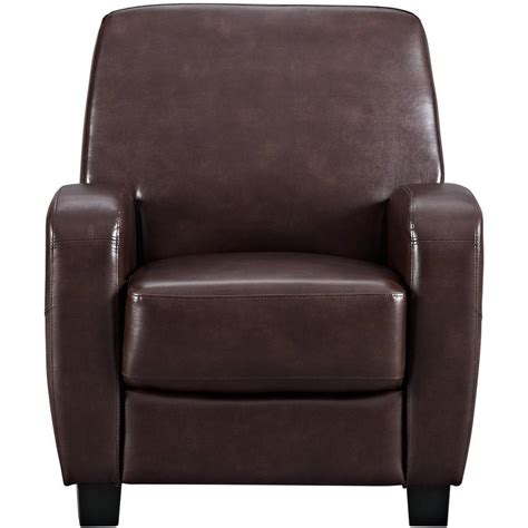 mainstays faux leather recliner see more hot 100 home decor
