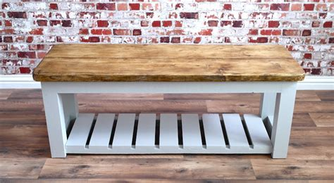 rustic hall bench rustic hall bench shoe storage bench made from reclaimed