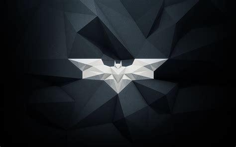 Batman Origami - origami batman by armani via creattica logo