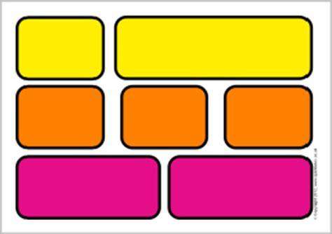 editable coloured word wall bricks sb7161 sparklebox