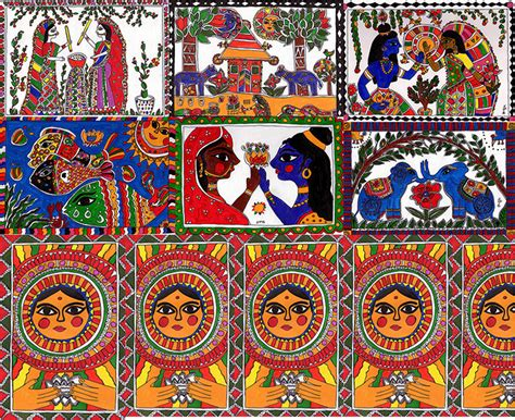 painting designs crazylassi s madhubani art practice and research blog why
