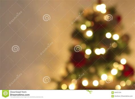 golden abstract blinking blurred christmas tree lights