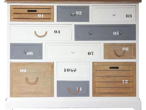 Bad Kommode Mit Schubladen by Bhp Best Home Products Kommode Maritim Wei 223 Mit 12