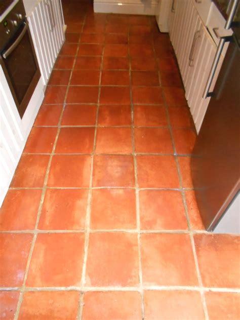 Terracotta Floor by Badly Neglected Terracotta Tiled Floor Restored In Fulwood
