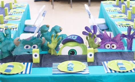 themes line monster inc kara s party ideas monster s university birthday bash party