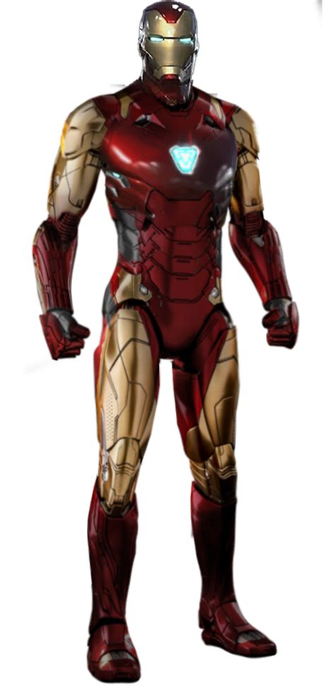 marvel iron man endgame png guerrero deviantart