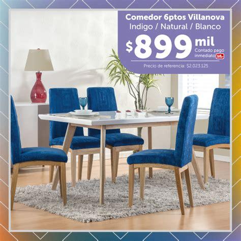 el comedor  puestos vilanova azul muebles jamar