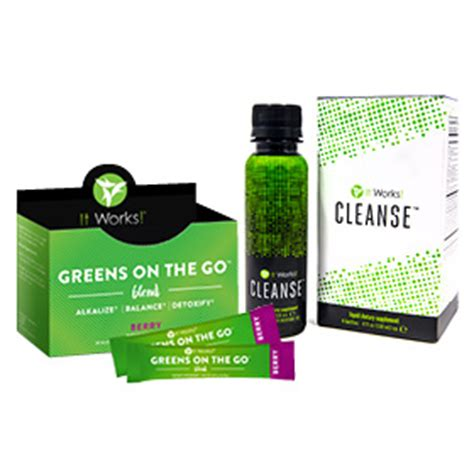 It Works 90 Day Greens Detox by It Works Cleanse It Works