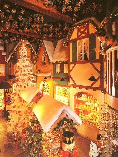 Christmas Village Decorations by Riquewihr Christmas Market French Moments