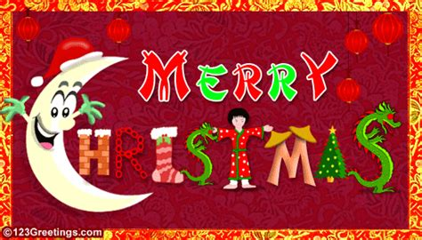 merry christmas  chinese ecards greeting cards