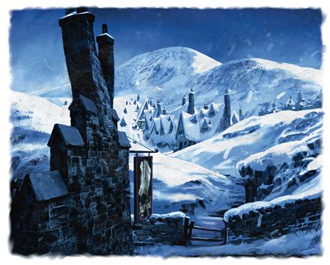 harry potter winter at 1406376086 hogwarts castles and winter scenes on