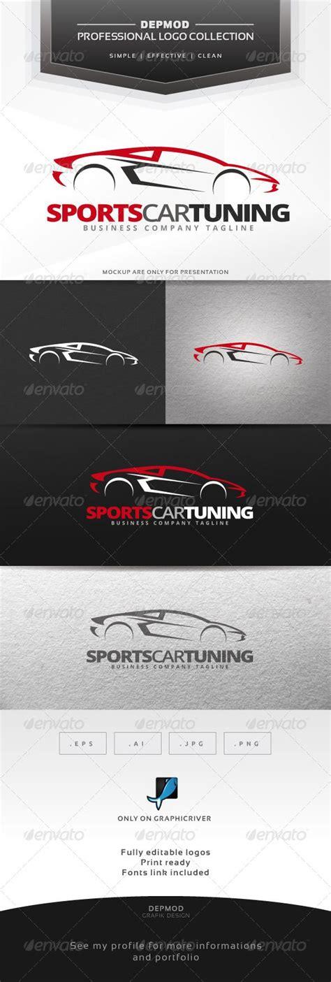 sports car tuning logo cars logo design template and logos