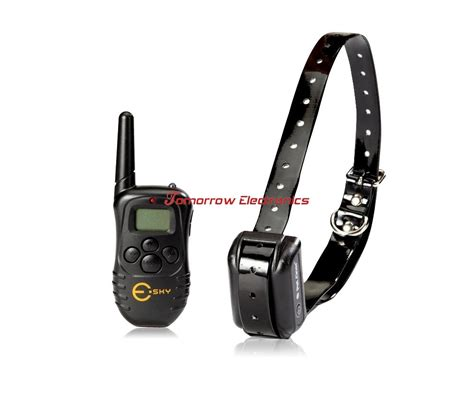 shock collar with remote 300 yard rechargeable remote shock collar anti bark no bark collar ebay