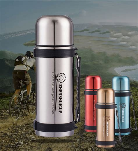 2016 new brand 1200ml thermos vacuum flask stainless steel