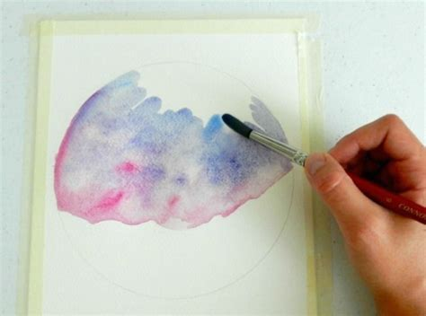 watercolor tutorial starry night how to paint a night sky in watercolor two tutorials