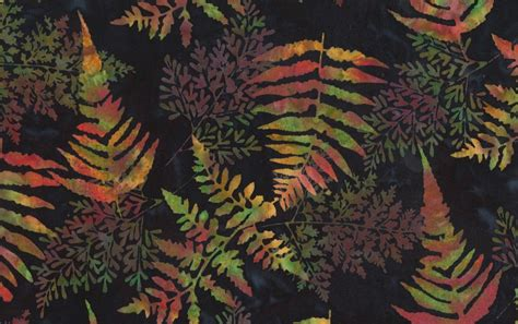 Black Batik batiks black