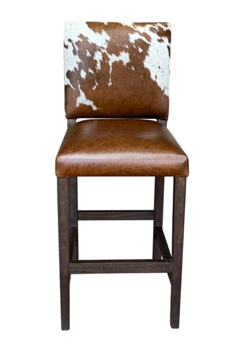 Cowhide Counter Stools - cowhide chairs cowhide bar stools cowhide ottomans