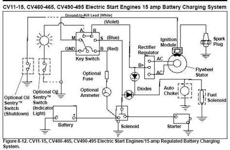 small engine ignition switch wiring diagram wiring