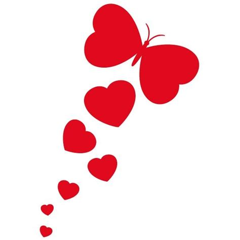 Home Decoration Design Pictures by Sticker Coeurs Papillon Stickers Coeur Amp Stickers Auto