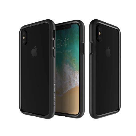Patchworks Level Silhouette Iphone X Original Black patchworks level silhouette iphone x bumper black reviews