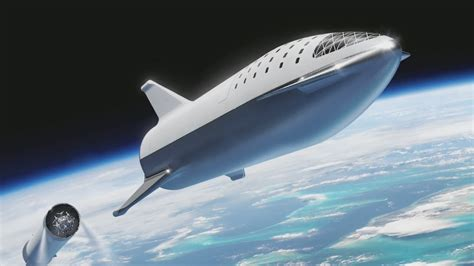 Spaceship Rocket spacex s spaceship what elon musk wants you to