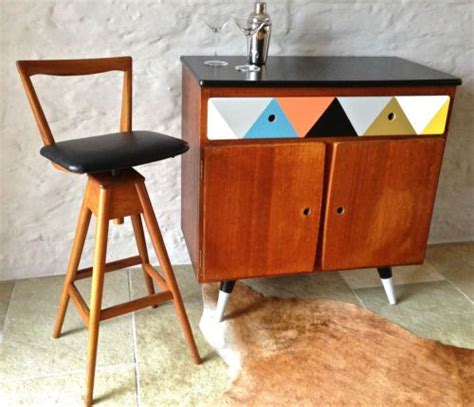Th Brown Bar Stools by Mid Century Vintage Retro Th Brown Sons Timber Bar
