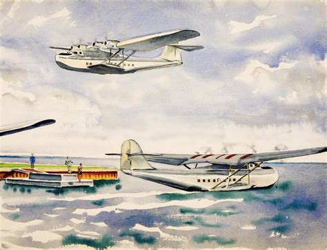 pan am flying boat pan am clipper flying boat the old print shop