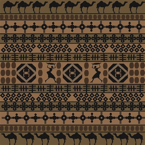 african pattern vector free african traditional pattern background 02 vector free