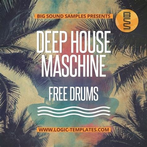 midi elements deep house drums royalty free drum hits logic templates com deep house maschine free drums