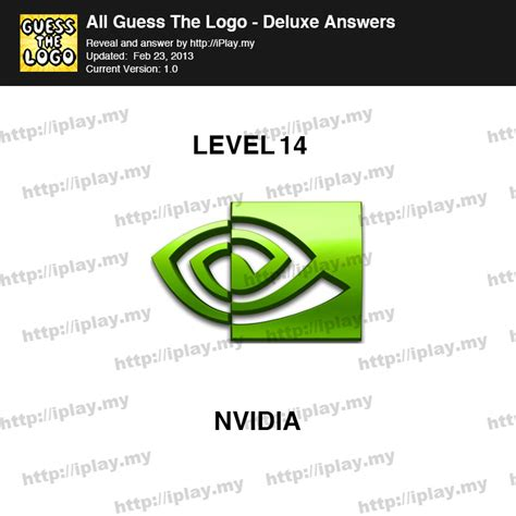 Guess My Guess Logo all guess the logo deluxe answers iplay my
