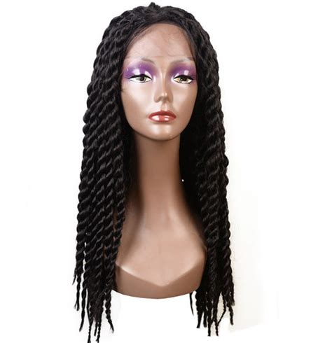 braid wigs for black women braid wig synthetic mambo twist front lace braid wigs for