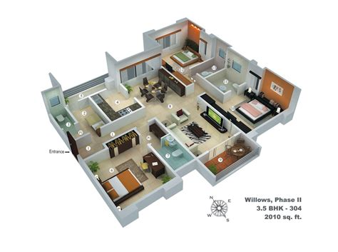 house plans with big bedrooms 6 bedroom floor plans find house plans