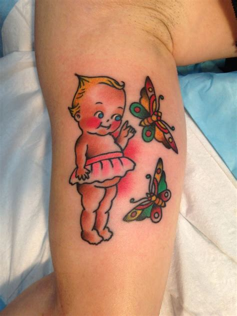 kewpie doll tattoo traditional kewpie by purr www sarapurr