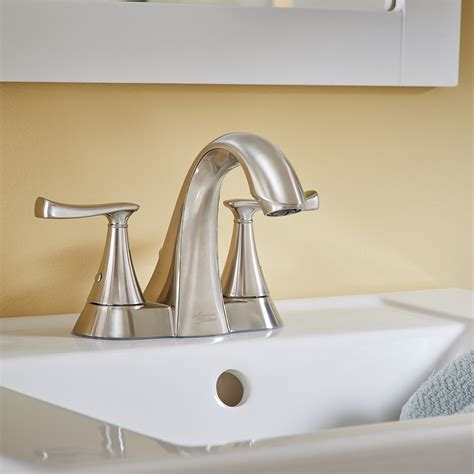 american standard faucet american standard chatfield 4 in chatfield 2 handle centerset bathroom faucet american