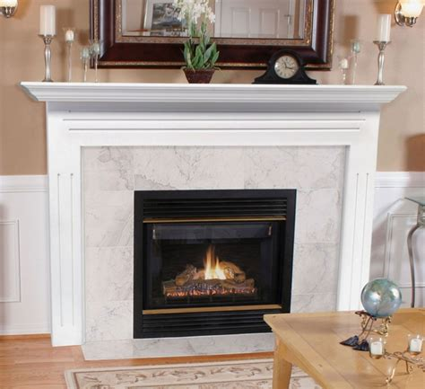White Wood Fireplace Mantel by Pearl Mantels 510 48 Newport Mdf Fireplace Mantel In White