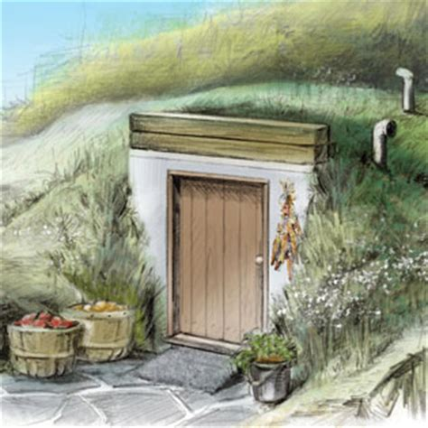 How To Tank A Basement - root cellar plans diy mother earth news