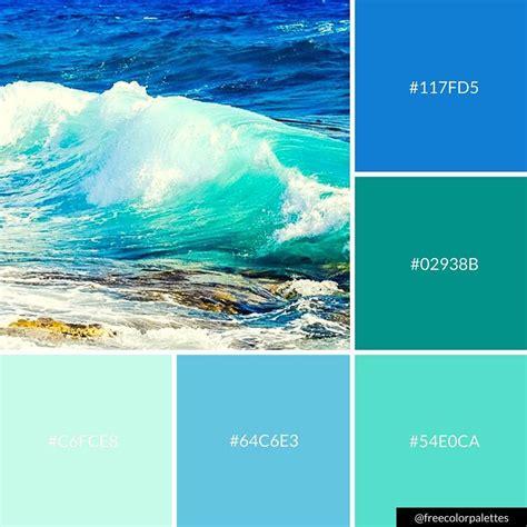 aqua color code blue and aqua color palette inspiration