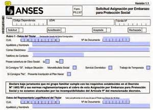ances cuanto demora el pago de la asignacion despues de entregar el formulario anses como solicitar la asignacion universal por embarazo