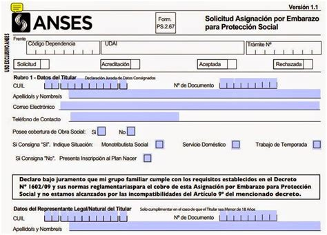 requisitos para asigancion familiar por hijo anses liquidacion de asignacion universal