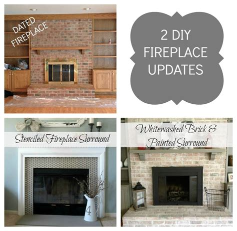 brass fireplace update more fireplace update and east