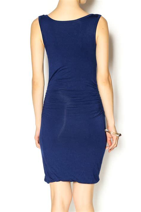 Dress Jesy Navy glam navy jersey dress from new york city by bazaar 224 gogo shoptiques
