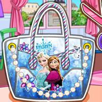 Game Design Your Frozen Bag | design your frozen bag best free online game for kids on