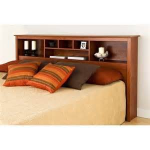 King Size Storage Headboard Headboard Or King Size Storage Bed Wood Bookcase Choose Color New Ebay