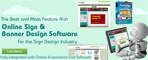 banner design software sign and banner design software for the printing