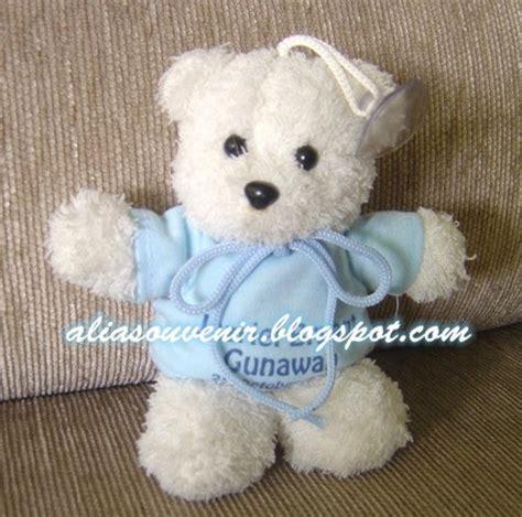 Boneka Teddy Hospitality boneka teddy gantungan kunci gantungan tempel