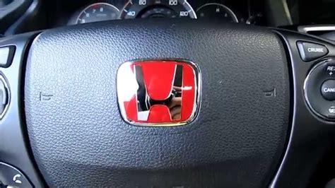jeep steering wheel emblem j s racing red honda steering wheel emblem installation